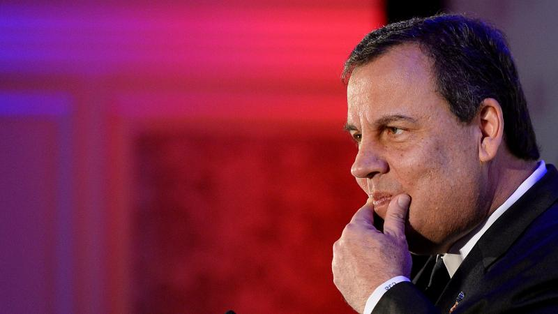 """While New Jersey Gov. Chris Christie addressed the Virginia Consumer Electronics Association Friday, his ally was due in court over charges related to the """"Bridgegate"""" scandal."""