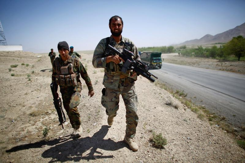 This patrol is part of a larger Afghan effort called Operation Rescue. It's one of the first large-scale combat operations planned, organized and fought by Afghan forces.