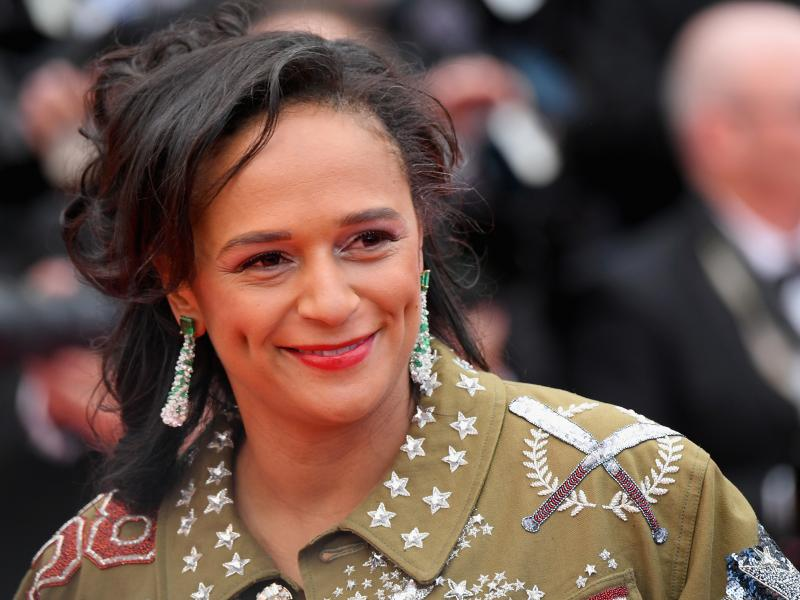 Isabel dos Santos, seen here attending a screening of BlacKkKlansman at the 2018 Cannes Film Festival in France, has been accused of embezzlement and money laundering in Angola.