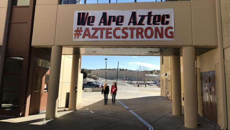 Last December, a gunman opened fire at Aztec High School, killing two students and then himself. The shooting received little attention in the national media.