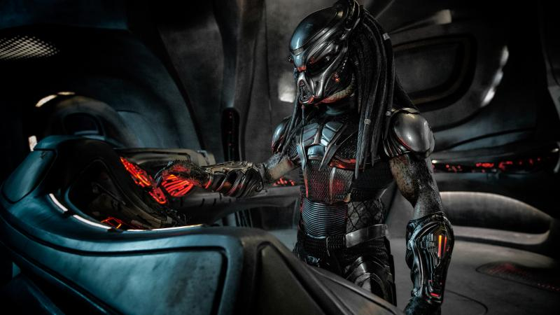"""""""'Hit Any Key?' Where's the 'any' key?"""" — The remorseless alien killing machine should probably just turn the console off and on again in The Predator."""