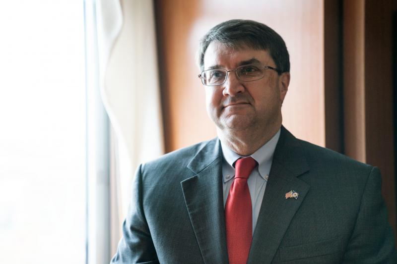 Secretary of Veterans Affairs Robert Wilkie said his department is on the mend after a tumultuous 2018.