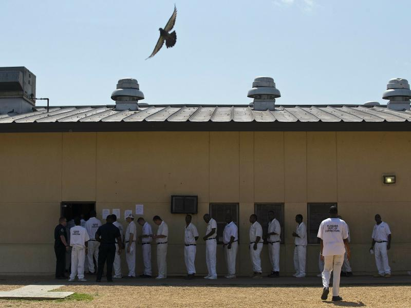 A scathing report from the U.S. Department of Justice found Alabama's understaffed prisons to be rife with drugs, weapons and violence.