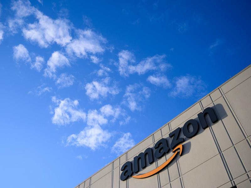 Some workers at Amazon warehouses such as this one in the Staten Island borough of New York City have been trying to organize, facing stiff opposition from the company. Amazon workers in Alabama have now petitioned to form a union.
