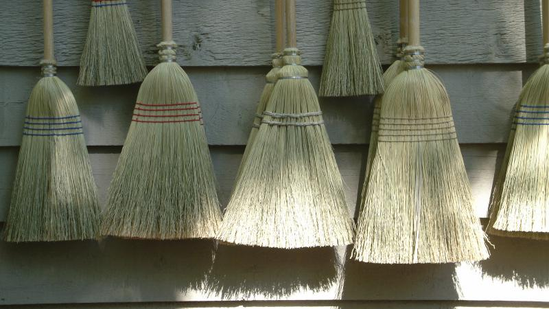 Writers lowered the boom on the broom — metaphorically, of course.