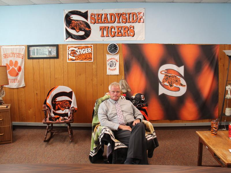 """A Thailand-based oil and gas company had offered to pay for a new school in Shadyside, Ohio. But with its local project now on hold, superintendent John Haswell says all he can do is """"wait and wait."""""""
