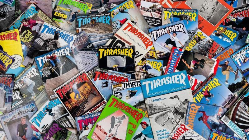 Thrasher magazines