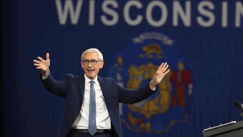 Tony Evers, Democratic candidate for governor of Wisconsin, faced a primary opponent who was further left and does not take up all the far-reaching policy positions of Bernie Sanders. But he has embraced the progressive banner, and Sanders has his back in