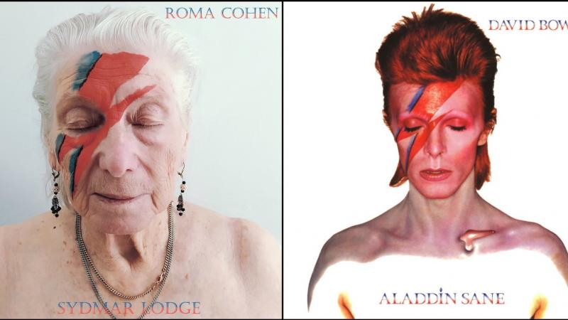 Activity manager Robert Speker worked with residents at England's Sydmar Lodge care home to re-create iconic album covers. Due to COVID-19, residents have been locked down in the facility for months.