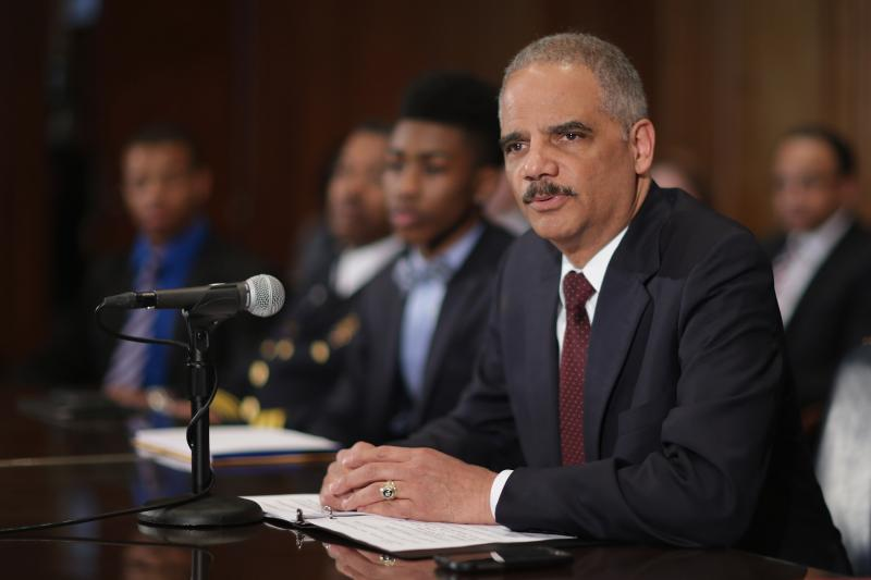 U.S. Attorney General Eric Holder in Washington.