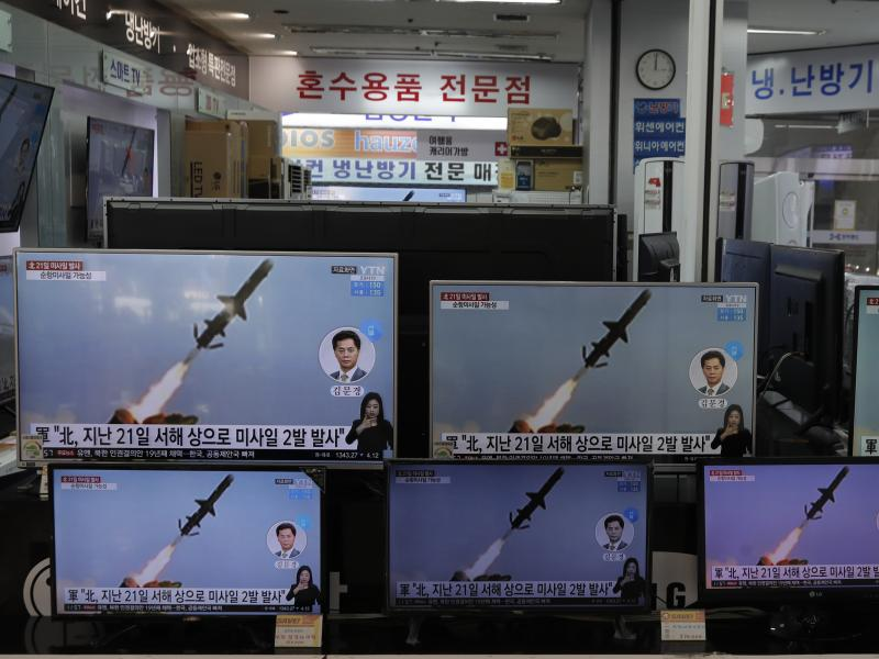North Korea fired short-range missiles this past weekend, just days after the sister of Kim Jong Un threatened the United States and South Korea for holding joint military exercises.