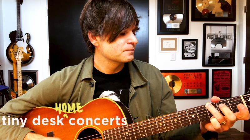 Ben Gibbard plays a Tiny Desk Home concert.