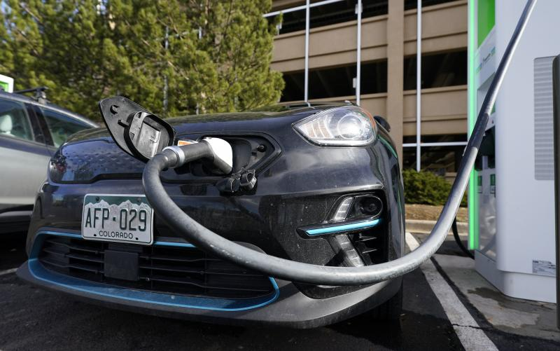 President Biden, whose infrastructure plan includes $174 billion to boost electric vehicle sales and production, has been pulled into a global trade dispute over the fate of lithium ion battery factories in Georgia that threatens his EV goals.