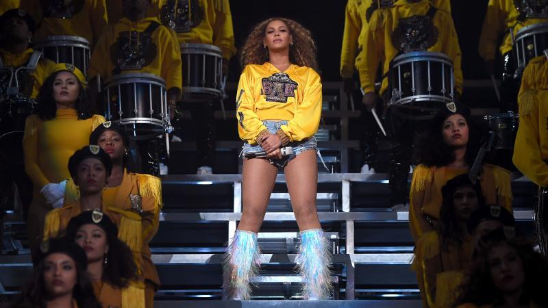 Beyoncé headlines 2018 Coachella Valley Music And Arts Festival Weekend 1 on Saturday, in Indio, Calif.