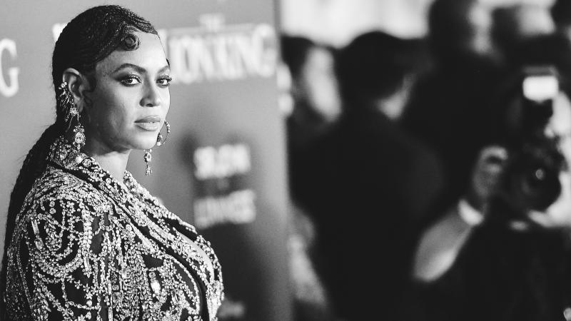 Beyoncé, at the premiere of Disney's The Lion King on July 09, 2019 in LA.