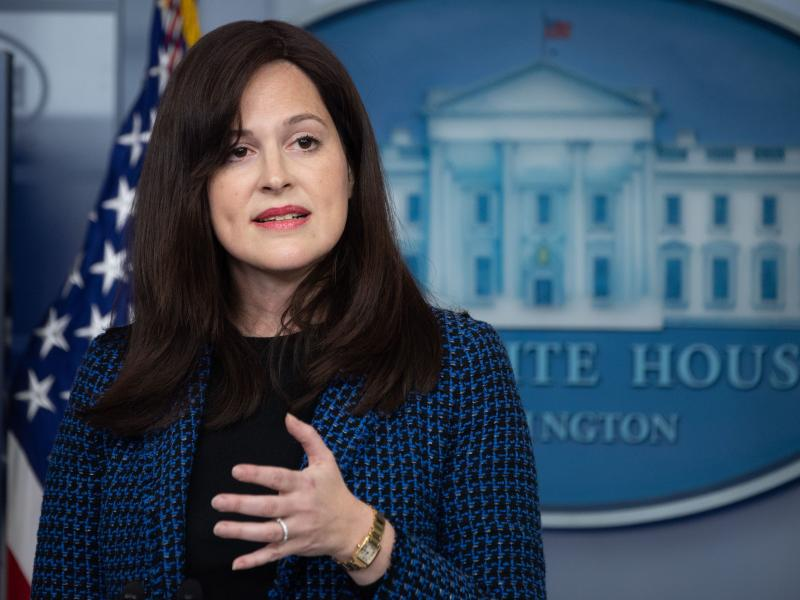Anne Neuberger, the deputy national security adviser for cyber and emerging technology, says an upcoming executive order will strengthen U.S. cybersecurity, from setting up new ways to investigate cyberattacks to developing standards for software.