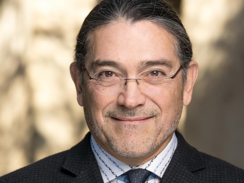If confirmed by the Senate, Robert Santos, a Latinx statistician shown here in a 2019 photo, would be the Census Bureau's first permanent director of color.