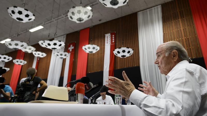 FIFA President Sepp Blatter, seen here in August, says he is cooperating with Swiss authorities and has done nothing illegal, in response to new allegations of corruption.