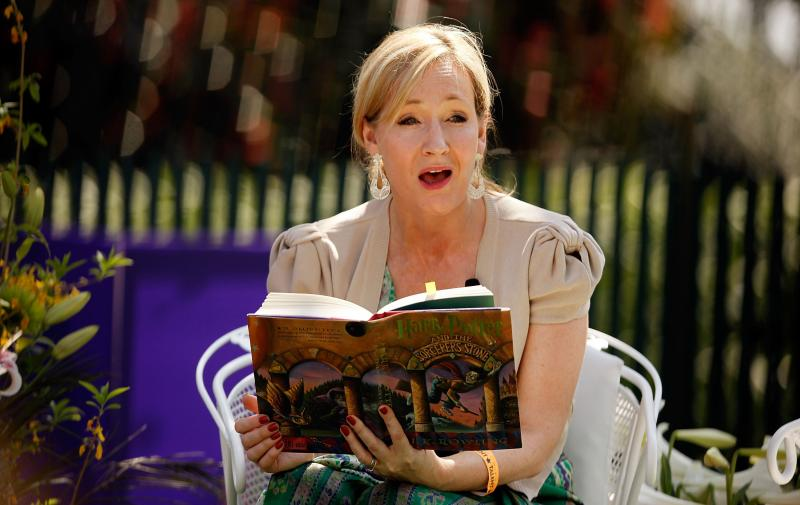 Book News Jk Rowling Exposes Origin Of Harry Potters Twee  Jk Rowling Reads To Children At The  White House Egg Roll According  To A Write My Book Report For Me also Essay On Healthy Living  Business Cycle Essay