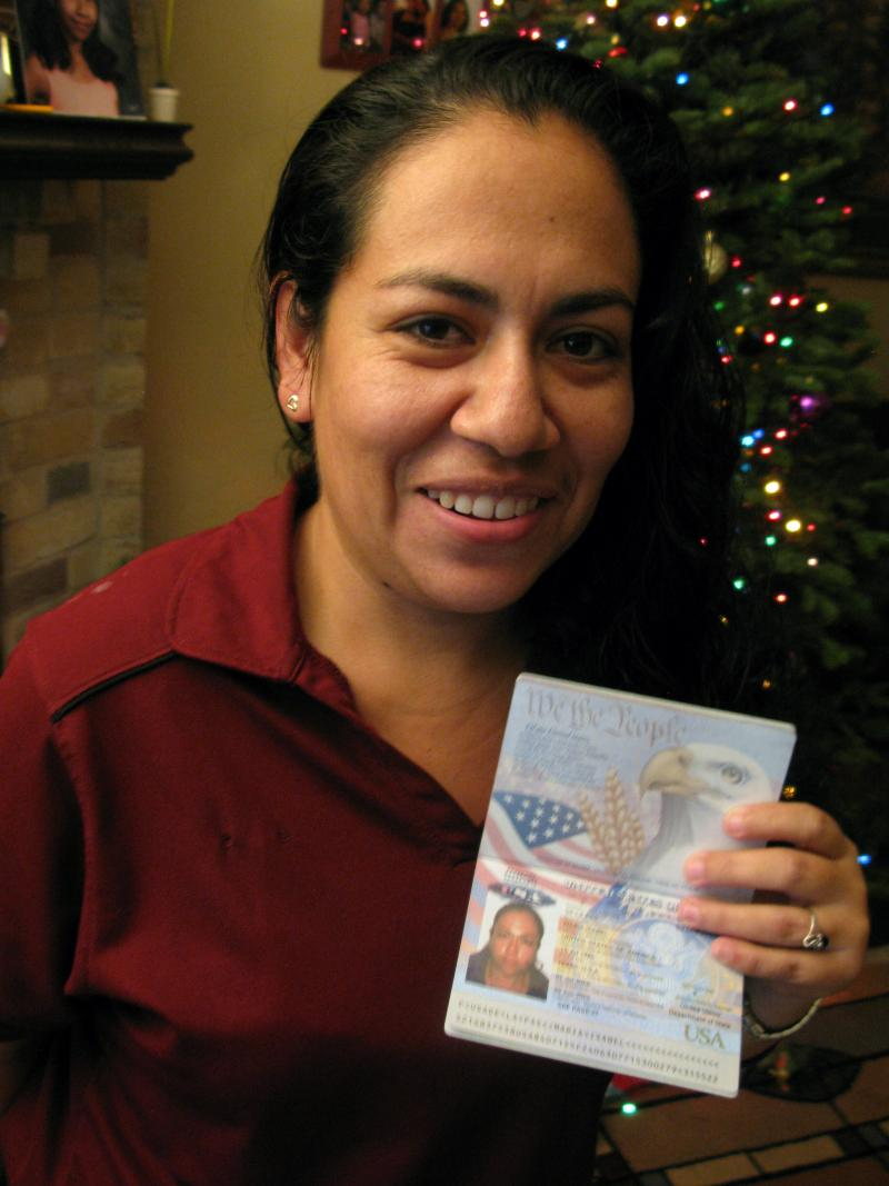 Maria Isabel de la Paz, a U.S. citizen, was twice turned away when trying to enter the U.S. legally. When she attempted an illegal crossing, her case was decided by a Border Patrol agent, not an immigration judge.