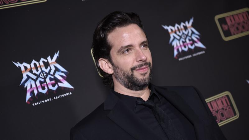Nick Cordero, here in January on opening night of Rock of Ages in Hollywood, has emerged from a coma during a difficult fight with COVID-19, according to his wife.