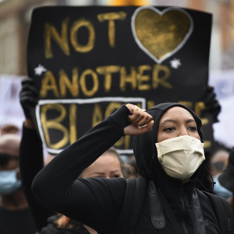 Black Lives Matter rallies have been held in Toronto and in cities across Canada in the wake of the killing of George Floyd.