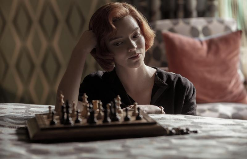Anya Taylor-Joy plays a swaggering chess prodigy in the new Netflix hit, The Queen's Gambit. It's success may lead to a shortage of chess sets this holiday season.