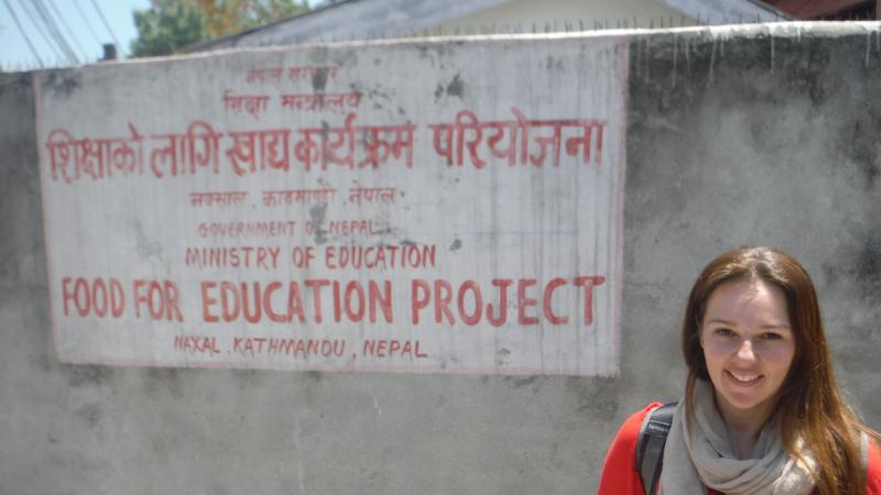 Cindy Stein, from the nonprofit Real Medicine Foundation, was working in Kathmandu when the second earthquake struck.