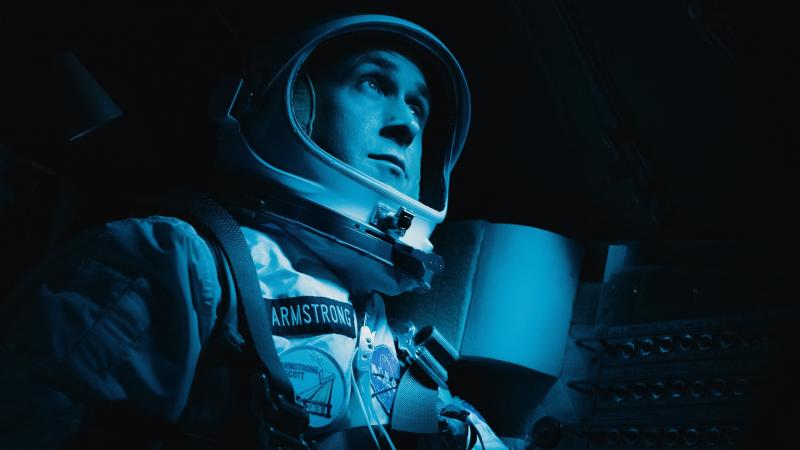 Ryan Gosling plays astronaut Neil Armstrong in Damien Chazelle's new film, First Man.