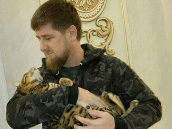 """Chechnya's leader Ramzan Kadyrov posted on Instagram that he has """"completely lost"""" his cat."""