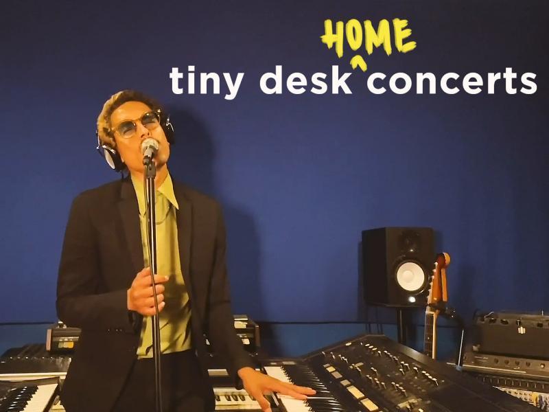 Chicano Batman plays a Tiny Desk (home) concert.