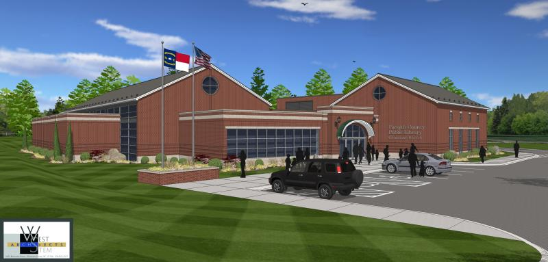 Construction For New Clemmons Library To Begin Soon | 88 5 WFDD