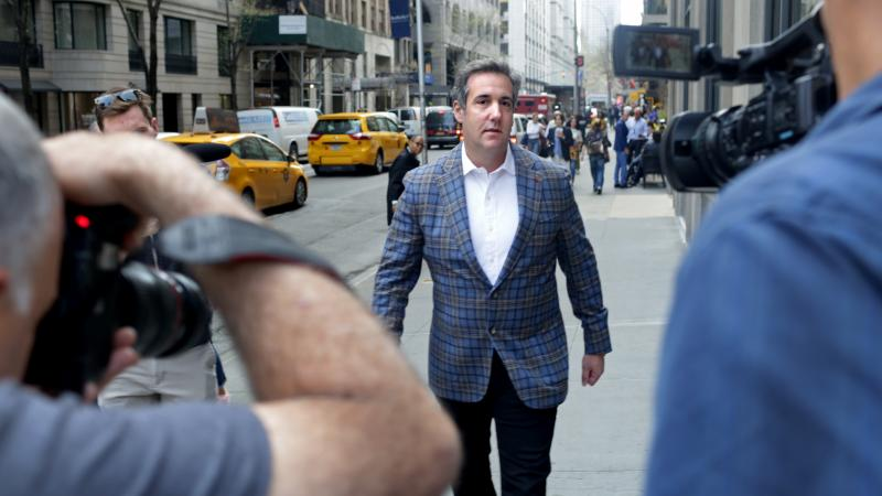 Michael Cohen, President Trump's personal attorney, will appear in court Monday afternoon, as his attorneys argue that he should get a first look at documents seized from him last week, to decide if they violate attorney-client privilege laws.