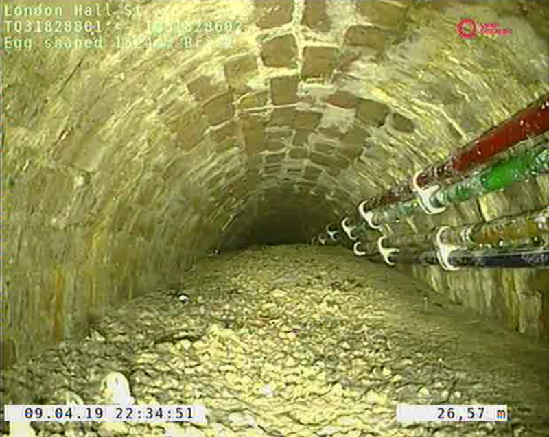 "Thames Water says it is removing a massive ""concreteberg"" from London's sewer system."