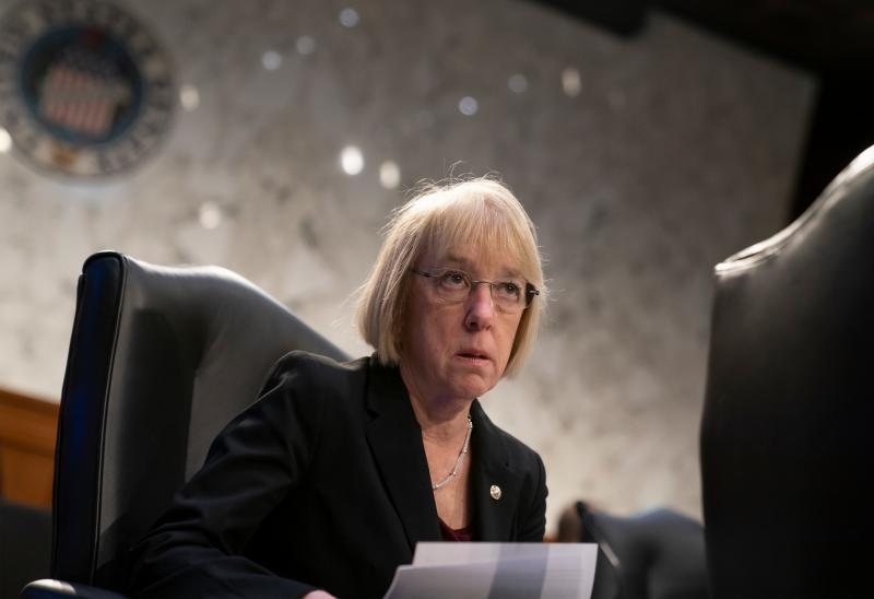 Sen. Patty Murray, D-Wash., organized a letter signed by 44 Senate Democrats and the chamber's two independents on Friday, urging the White House to withdraw changes to hospital reporting requirements.
