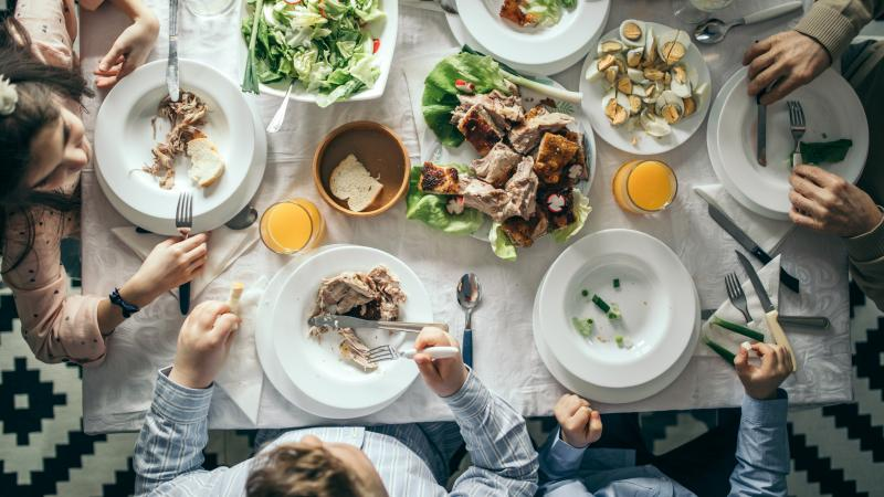 "The resurgence of family meals is one of the ""precious few good things"" that's come from the COVID-19 pandemic, says food writer Sam Sifton."