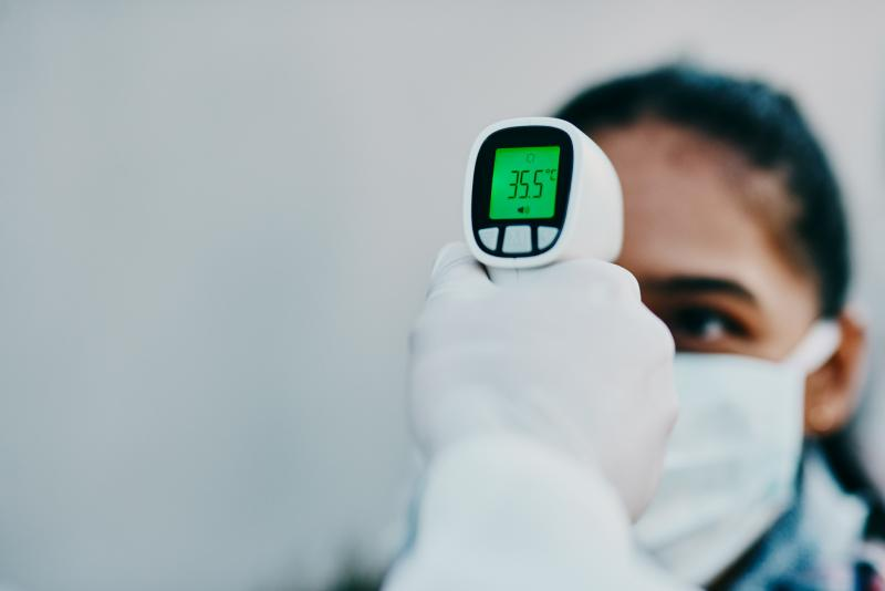 Expect to see more forehead thermometers in workplaces and airports as a way to screen people for fever, which could be a sign of COVID-19.