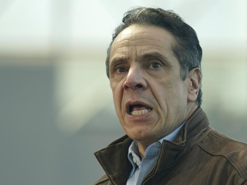 """A prominent House Democrat says the allegations against N.Y. Gov. Andrew Cuomo """"have made it impossible for him to govern at this point."""""""