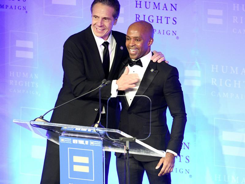 In February 2020, New York State Governor Andrew Cuomo was praised by the president of the Human Rights Campaign, Alphonso David. David previously served as a legal adviser to Cuomo. Now, critics on the political left and right are calling for both men to