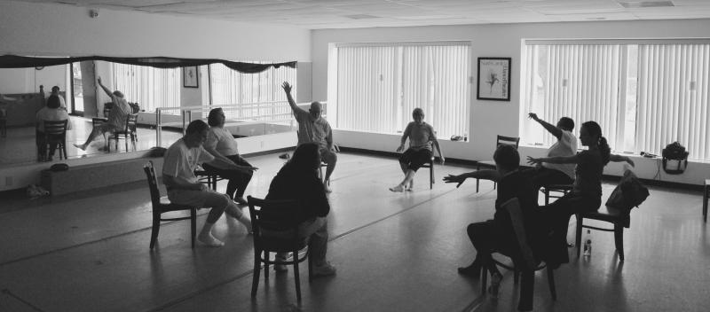IMPROVment dance class in session.