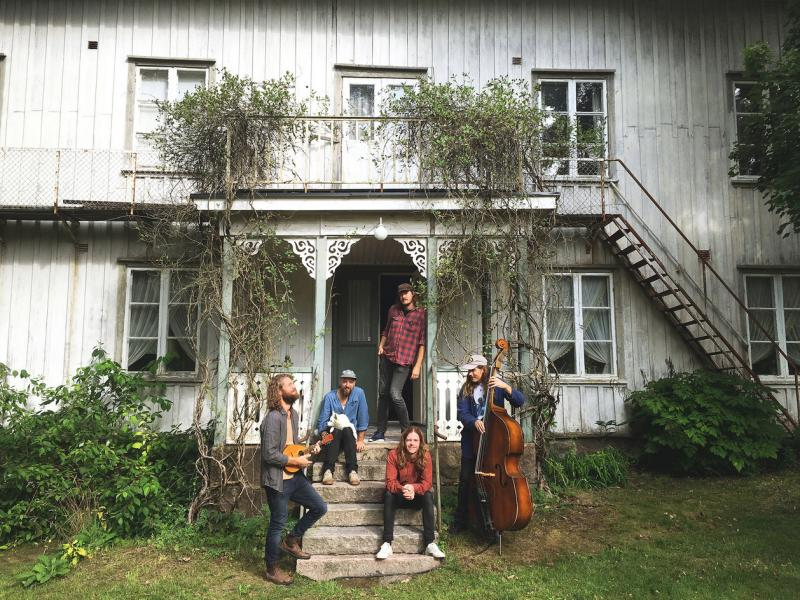 The old house where Daniel Norgren and friends recorded Wooh Dang, the Swedish musicians first international release.