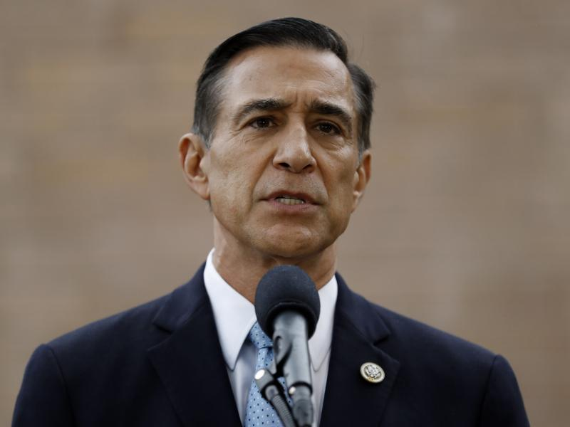 Former Rep. Darrell Issa announced Thursday he will attempt a return to Congress to replace fellow Republican Rep. Duncan Hunter, who is running for reelection while under indictment for corruption.