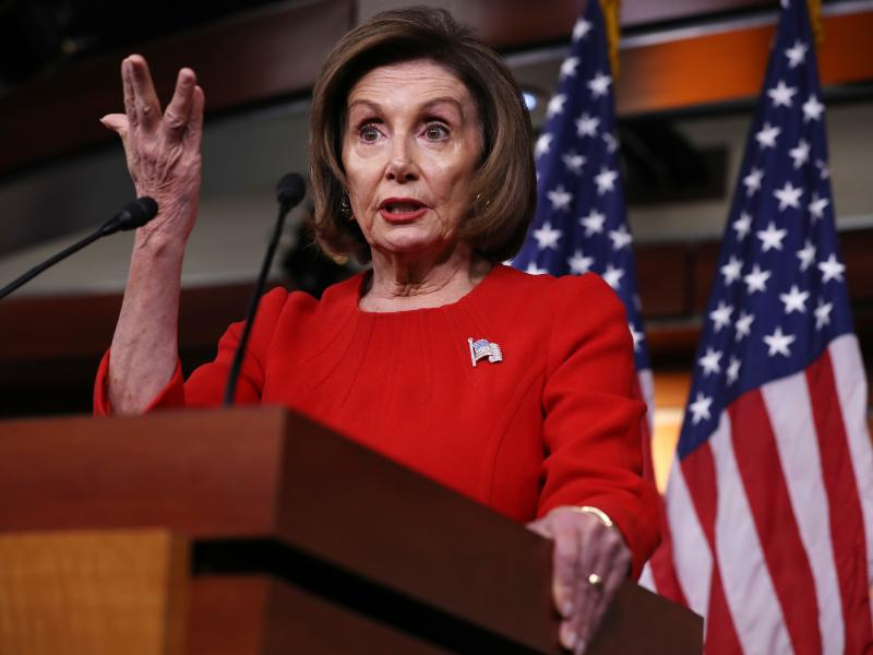 Speaker of the House Nancy Pelosi, D-Calif., has been seeking a short-term deal to fund the government through Dec. 20. Currently, federal agencies are set to run out of money on Thursday.