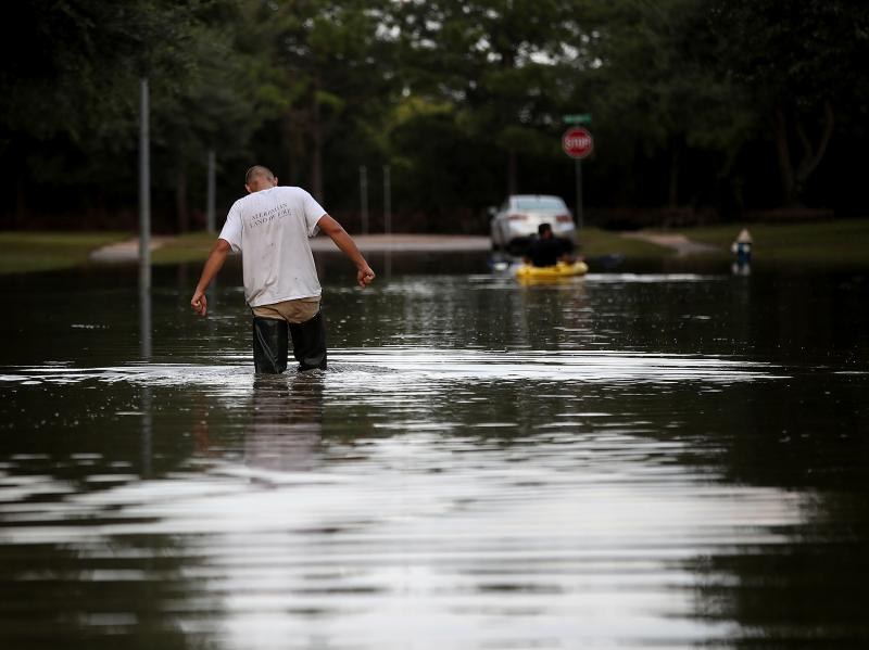 A week after Hurricane Harvey swept through southern Texas in August, the streets of Katy, Texas, were still flooded. People in Puerto Rico and the Southeastern U.S. who were affected by the hurricanes are among those who may have extra time to enroll for