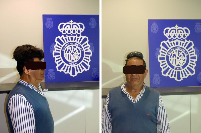 The 65-year-old man — unnamed by police — tried to smuggle a more than a pound of cocaine under his toupee. He was caught by Spain's National Police shortly after disembarking from a flight arriving in Barcelona from Bogota, Colombia, in June.