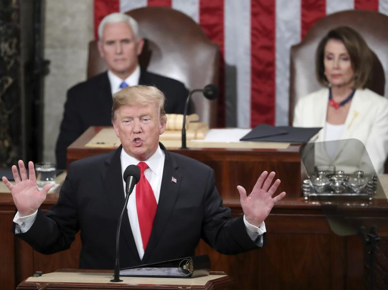 Donald Trump to declare national emergency over border wall, McConnell says