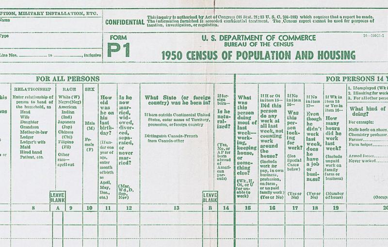 Fact Check Has Citizenship Been A Standard Census Question   Wfdd