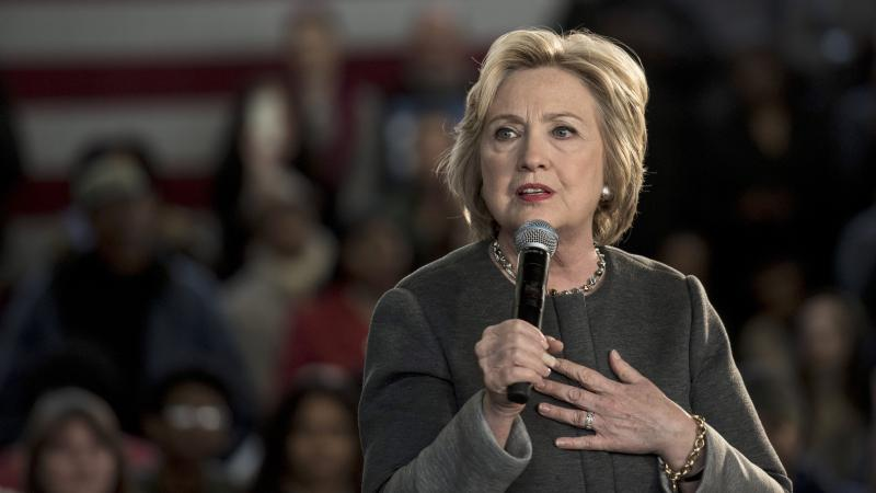 Democratic presidential candidate Hillary Clinton at an event in New York City on April 5, 2016.