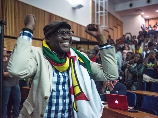 """Zimbabwean Pastor Evan Mawarire, acquitted recently of trying to subvert the government, has deftly used social media in a quest for justice and rights. """"It's important that we let the administration that is coming in right now know that if they do to us"""