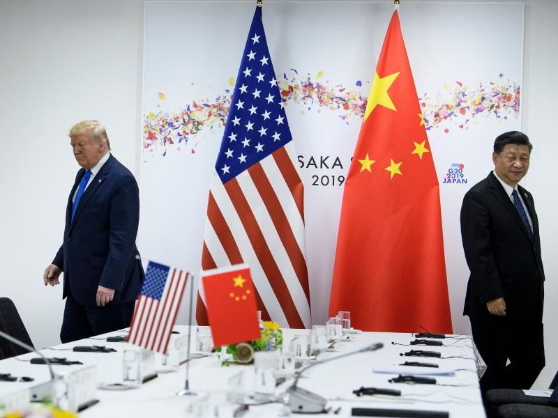 President Trump and Chinese President Xi Jinping attend a bilateral meeting on the sidelines of the G20 Summit in Osaka last June. The two leaders spoke by phone earlier this month. Since the coronavirus outbreak, China has let in some experts from the Wo